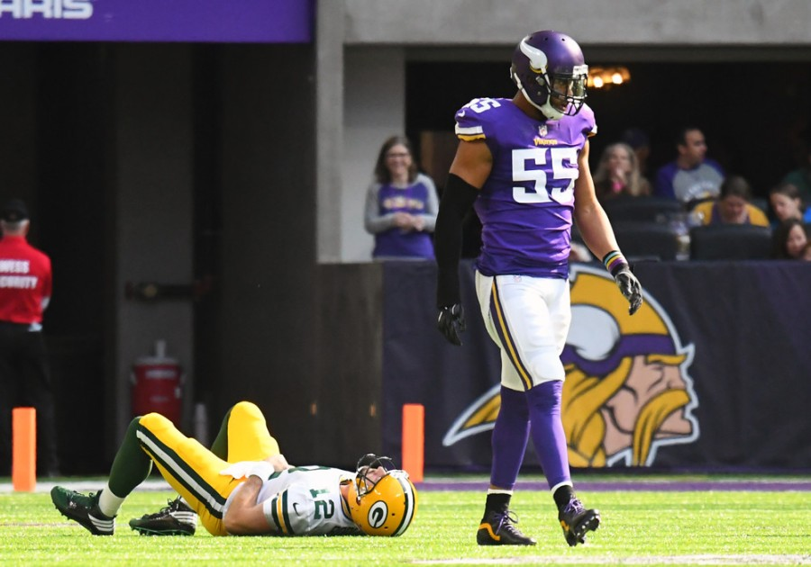 NFL: OCT 15 Packers at Vikings